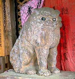 木製狛犬1